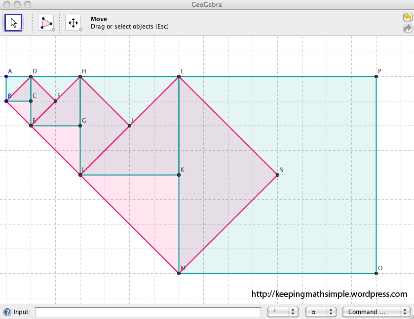 GeoGebra and Mathematics: Squares and Square Roots | Keeping math simple